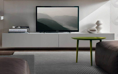 Tv units entertainment units floating tv cabinet wall hung units melbourne sydney for Floating tv stand living room furniture