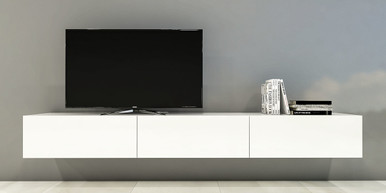 Floating TV Entertainment Wall Units & Floating Wall Mounted Cabinets