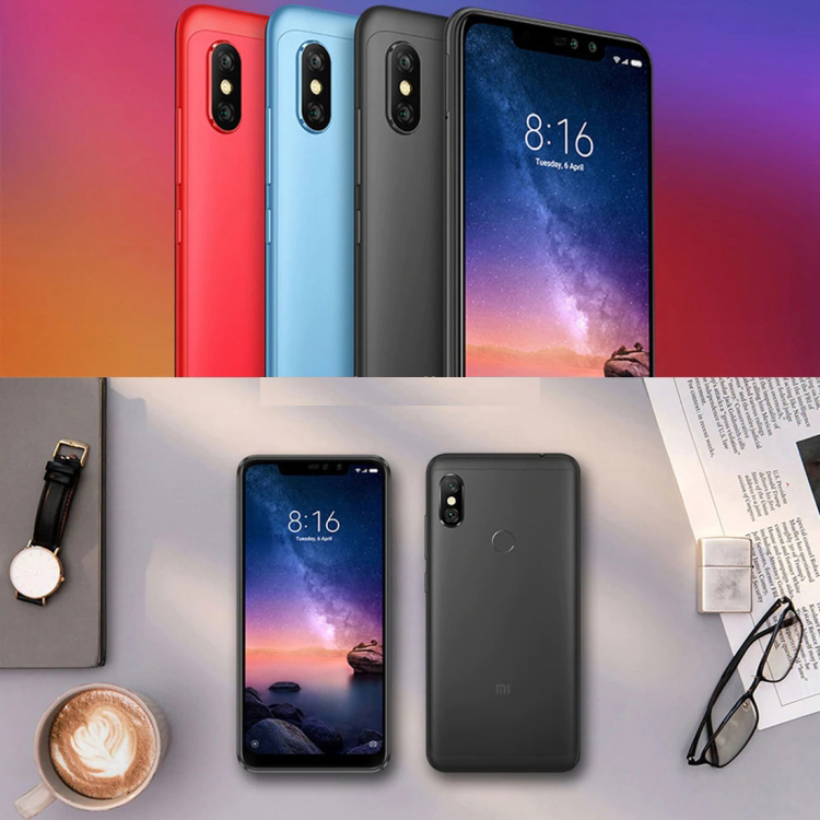 """Details about XIAOMI REDMI NOTE 6 PRO 4gb/64gb 6 2"""" Fingerprint Id Android  4g Oreo Smartphone"""