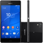 "sony xperia z3 black 3gb ram 16gb rom 20.7mp camera 5.2"" screen android phone"