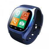 """rwatch m26s blue 1.4"""" bluetooth anti lost mic messasges smartwatch android/ios"""