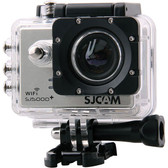 "sjcam sj5000 wifi novatek 96655 silver 2.0"" screen hd 1080p action sports camera"