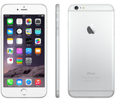 apple iphone 6 plus unlocked 64gb 1gb 8mp silver gsm ios 12 4g smartphone