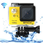 puluz u6000 full hd 1080p yellow wifi waterproof sport action camcorder