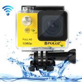 puluz u6000 full hd 1080p yellow wifi waterproof sport action camcorder