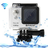 puluz u6000 full hd 1080p grey wifi waterproof sport action camcorder