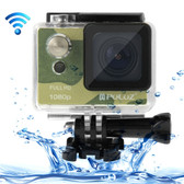 puluz u6000 full hd 1080p camouflage wifi waterproof sport action camcorder
