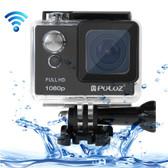 puluz u6000 full hd 1080p black wifi waterproof sport action camcorder