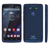 motorola droid turbo xt1254 64gb 3gb 21mp camera blue unlocked smartphone