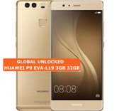 "huawei p9 eva-l19 3gb 32gb gold octa core 5.2"" screen android 4g lte smartphone"