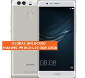 "huawei p9 eva-l19 3gb 32gb octa core 5.2"" screen android 4g lte silver smartphone"