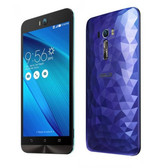 "asus zenfon selfie 1.5ghz octa core 5.5"" screen android 5.0 lte blue smartphone"