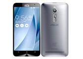 """asus zenfone 2 silver 4gb/64gb quad core 5.5"""" screen android 5.0 lte smartphone"""