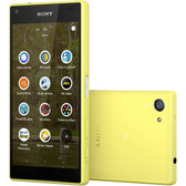 "sony xperia z5 compact e5823 2gb/32gb yellow 4.6"" screen android lte smartphone"