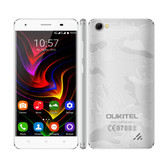 "oukitel c5 pro 2gb/16gb silver 5.0"" hd screen android 6.0 4g lte smartphone"
