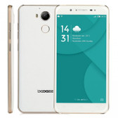 "doogee f7 3gb 32gb white 13mp camera 5.5"" screen android 6.0 4g lte smartphone"