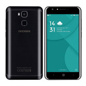 "doogee y6c 2gb/16gb black 1.3ghz 5.5"" hd screen android 6.0 4g lte smartphone"