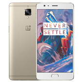 "oneplus 3t 6gb/64gb gold quad core 5.5"" fhd screen android 6.0 4g lte smartphone"