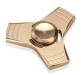 edc fidget spinner zinc gold hand spinner aluminum alloy metal adults kid toy