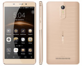 "leagoo m8 2gb 16gb gold quad core 5.7"" hd screen android 6.0 smartphone"