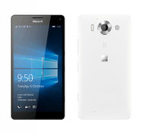 "microsoft lumia 950 3gb/32gb white 5.2"" hd screen windows 10 4g lte smartphone"