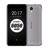 "ulefone power 2 gray 4gb/64gb octa core 5.5"" screen android 7.0 lte smartphone"