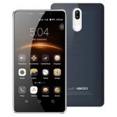 "leagoo m8 pro 2gb/16gb gray quad core 5.7"" screen android 6.0 4g lte smartphone"