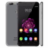 "oukitel u20 plus 2gb 16gb grey quad core 5.5"" screen android 4g lte smartphone"