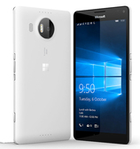 "microsoft lumia 950xl 3gb 32gb white 5.7"" screen windows 10 4g lte smartphone"