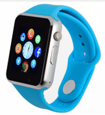 "zomoea blue bluetooth 1.54"" screen gt08 android phone support smart watch"