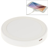 qi standard wirless charging pad white iphone 8 samsung and others smartphones
