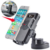 itian universal 360 degree rotation suction car wireless charger black smartphone