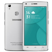 "doogee x5 max white 1gb 8gb quad core 5.0"" hd screen android 6.0 smartphone"