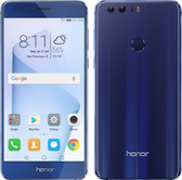 "huawei honor 8 blue 4gb 64gb 12 mp camera 5.2"" screen android 4g lte smartphone"