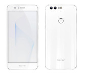 "huawei honor 8 white 4gb 64gb 12 mp camera 5.2"" screen android 4g lte smartphone"