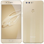 "huawei honor 8 gold 4gb 64gb 12 mp camera 5.2"" screen android 4g lte smartphone"