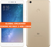 "xiaomi mi max 2 gold 4gb 128gb octa core 6.44"" screen android 7.1 lte smartphone"