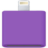 30 pin female to male adapter purple iphone 6s plus iphone 5c retina ipod touch