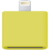 30 pin female to male adapter yellow iphone 6s plus iphone 5s ipad air ipod touch