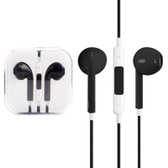high quality earpods wired control mic black iphone samsung htc smartphones
