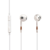 high quality earpods wired control mic transparent iphone samsung smartphones