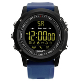 ex17 waterproof bluetooth blue 50m pedometer data analysis camera smart watch