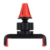haweel 360 rotation portable car mount holder red iphone samsung lg smartphones