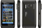 "nokia n8 dark grey unlocked 16gb 3.5"" screen 12mp camera symbian smartphone"