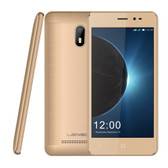 "leagoo z6 quad core 1gb 8gb gold 4.97"" hd screen android 6.0 smartphone"