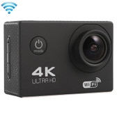 f60 4k 170 degrees black wifi camcorder 64gb micro sd card waterproof camera
