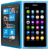 "nokia lumia 800 unlocked 16gb 8mp camera blue 3.7"" screen windows 3g smartphone"