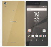 "sony xperia z5 premium e6853 gold 3gb 32gb 5.5"" screen android lte smartphone"