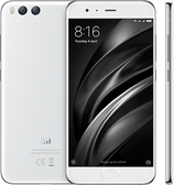 "xiaomi mi6 white octa core 6gb 64gb 5.15"" screen android 7.0 4g lte smartphone"