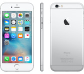 "apple iphone 6s 2gb 128gb silver dual core 4.7"" hd screen ios 11 lte smartphone"